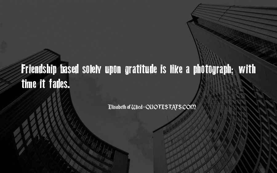 Quotes About Gratitude For Friendship #293327