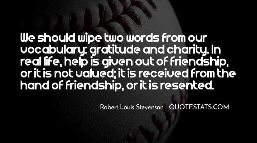Quotes About Gratitude For Friendship #393829