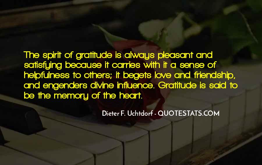 Quotes About Gratitude For Friendship #495312