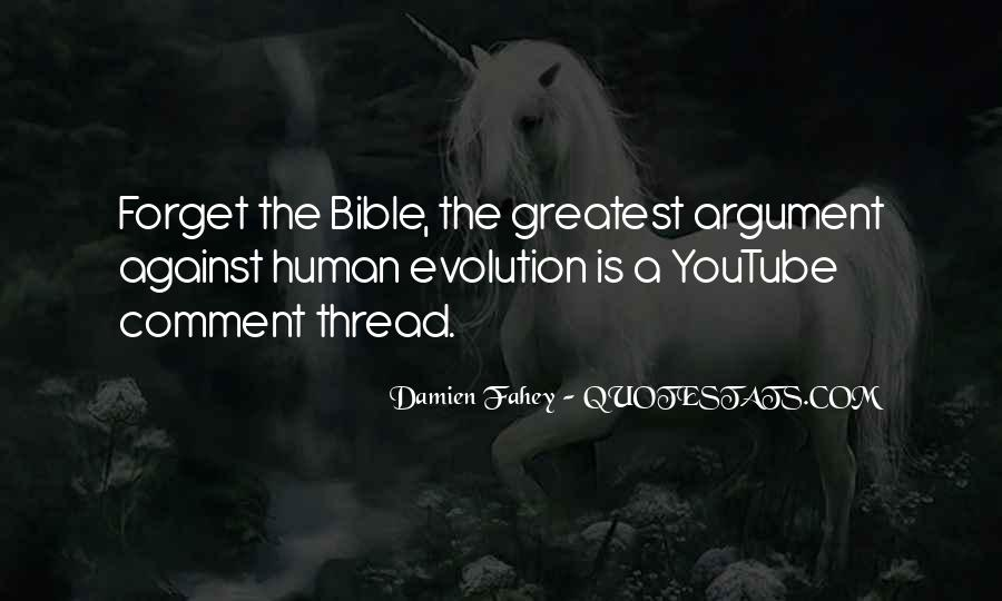 Funny Evolution Quotes #427066