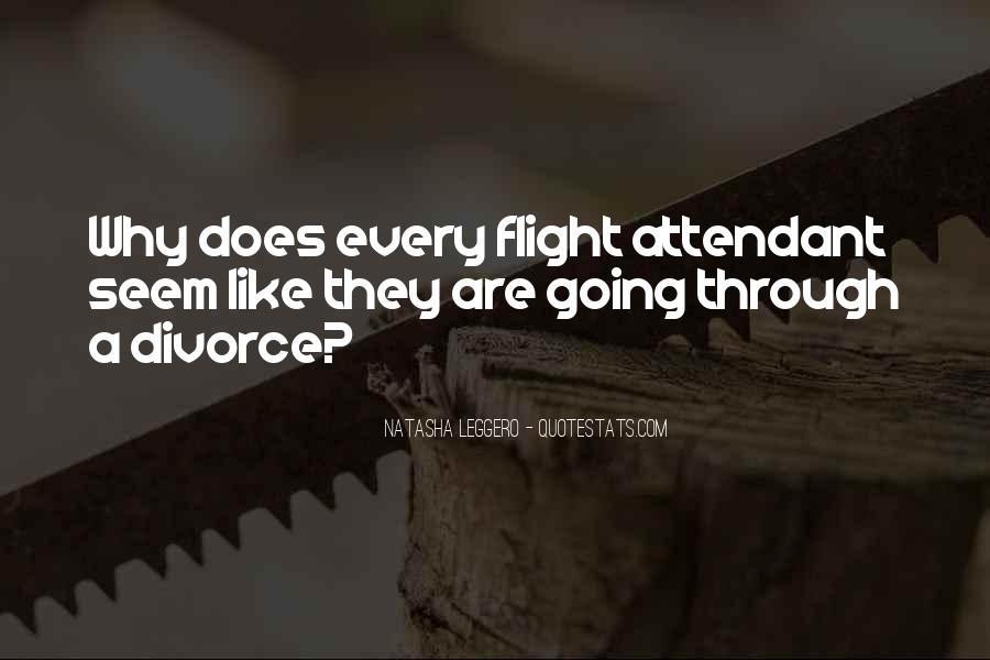 Funny Flight Attendant Quotes #212894