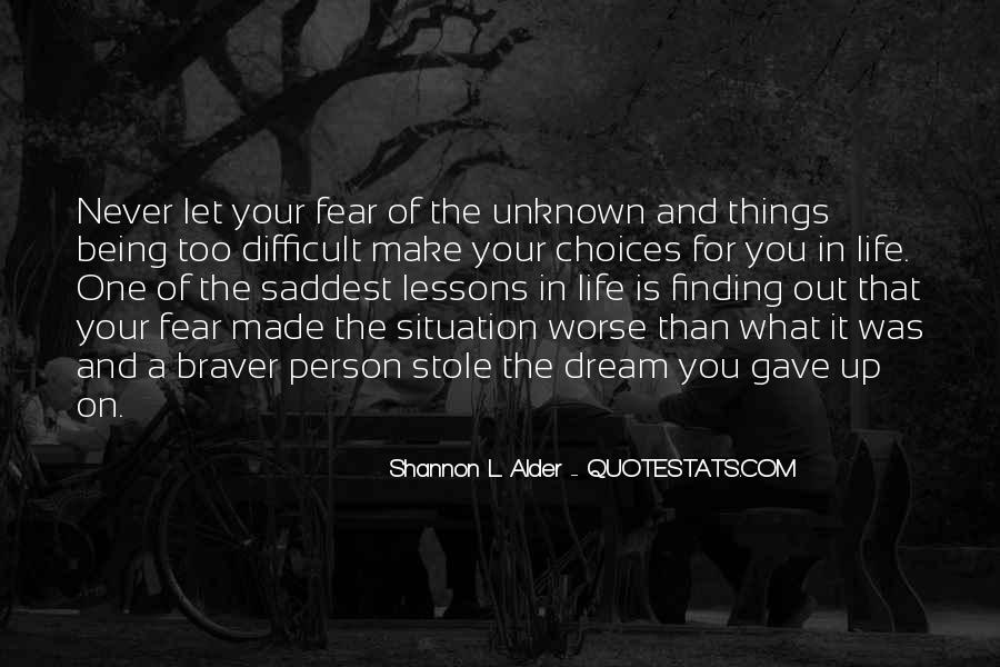 Quotes About The Future Being Unknown #1589286