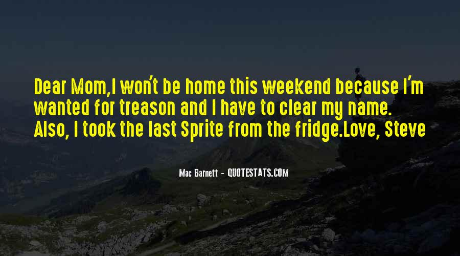 Funny Fridge Quotes #1800961