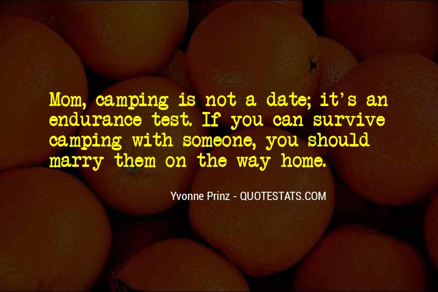 Funny Going Camping Quotes #66670
