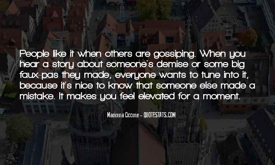 Quotes About Gossiping People #265588