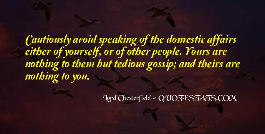 Quotes About Gossip Family #1421498