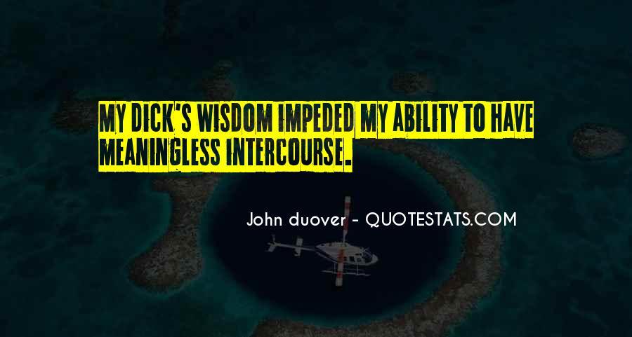 Funny Intercourse Quotes #1148515