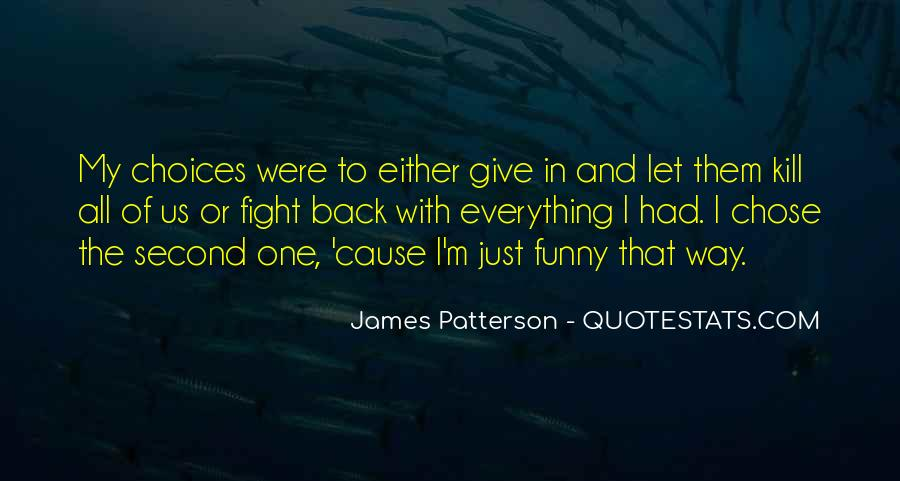 Funny James Patterson Quotes #645664