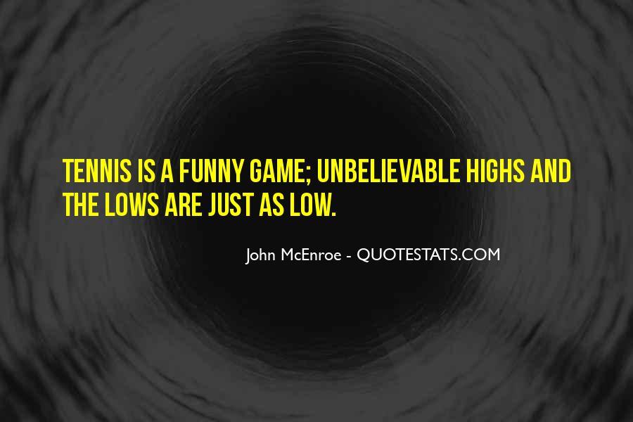 Funny John Mcenroe Quotes #1815415