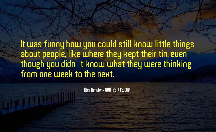 Funny Little Quotes #161929