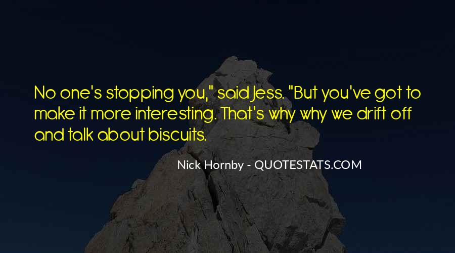 Funny Nick Hornby Quotes #1693513