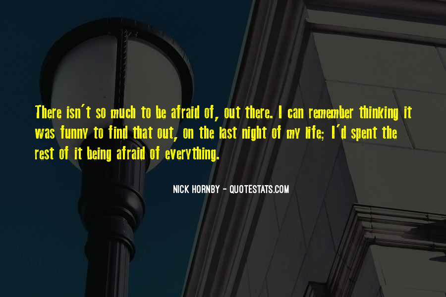 Funny Nick Hornby Quotes #597299