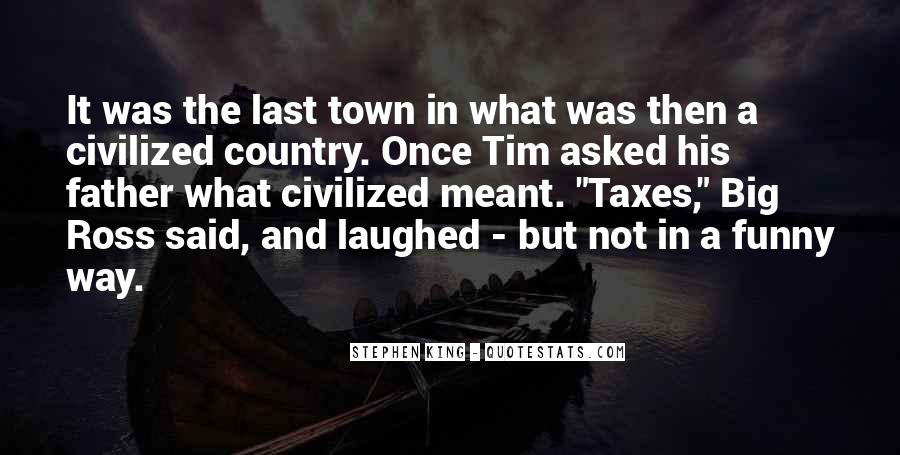 Funny Out Of Town Quotes #814815
