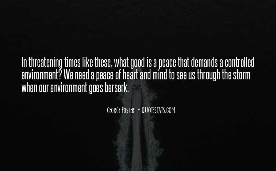 Quotes About Good Environment #1146763