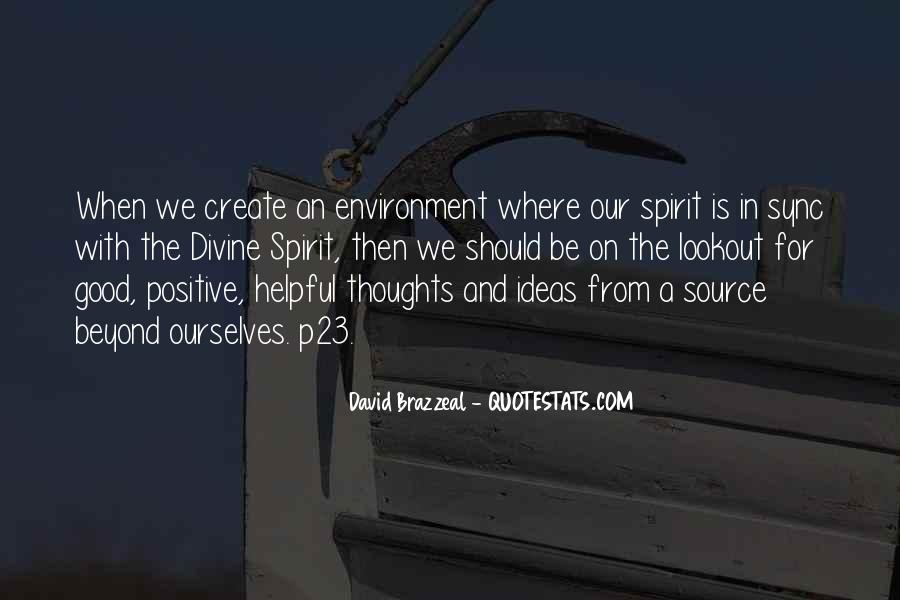 Quotes About Good Environment #328753