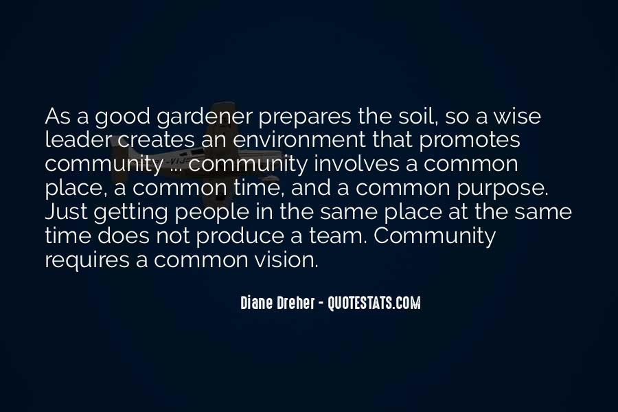 Quotes About Good Environment #441369