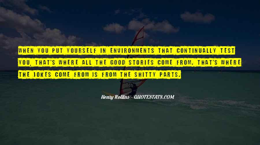 Quotes About Good Environment #623342