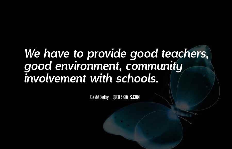 Quotes About Good Environment #857247