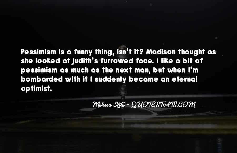 Funny Pessimism Quotes #116134