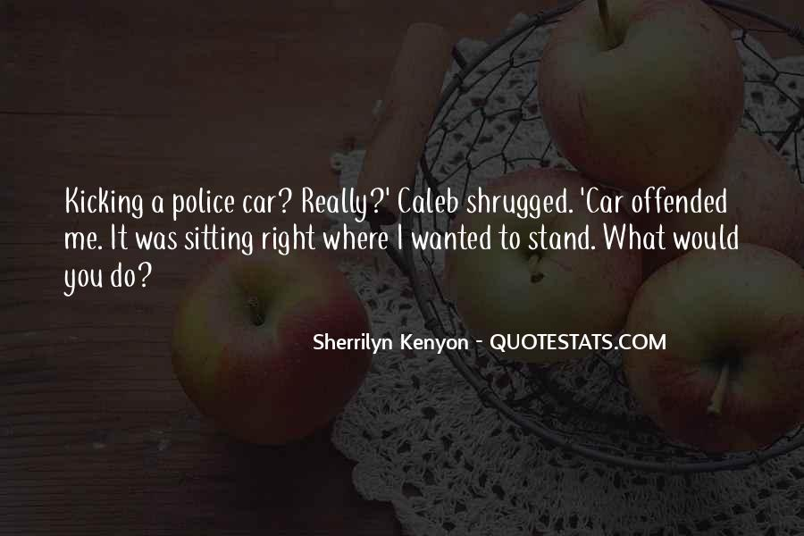 Funny Police Quotes #1129405