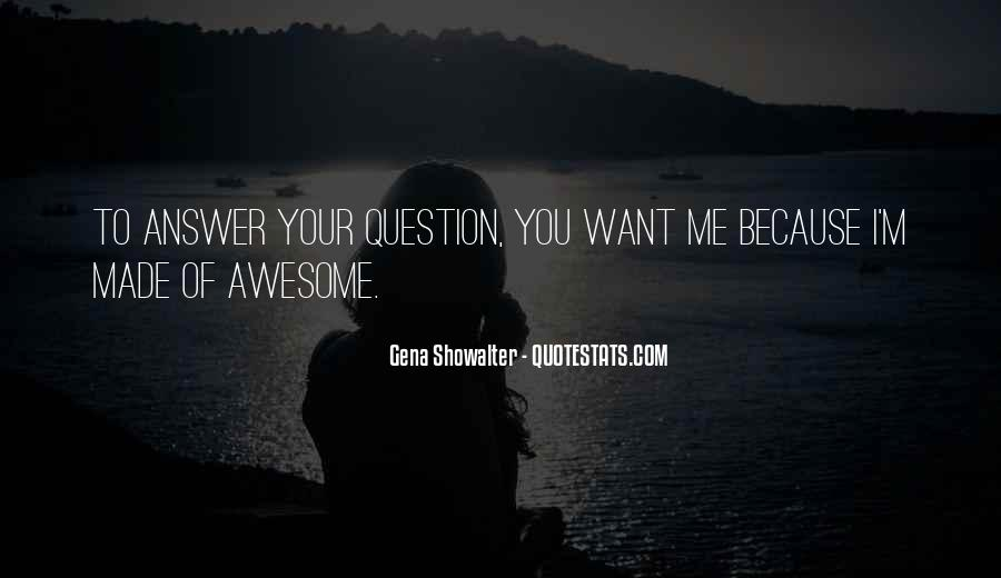 Funny Question And Answer Quotes #118584