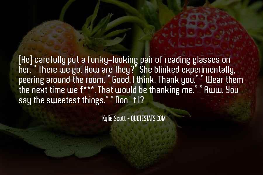Funny Reading Glasses Quotes #411055