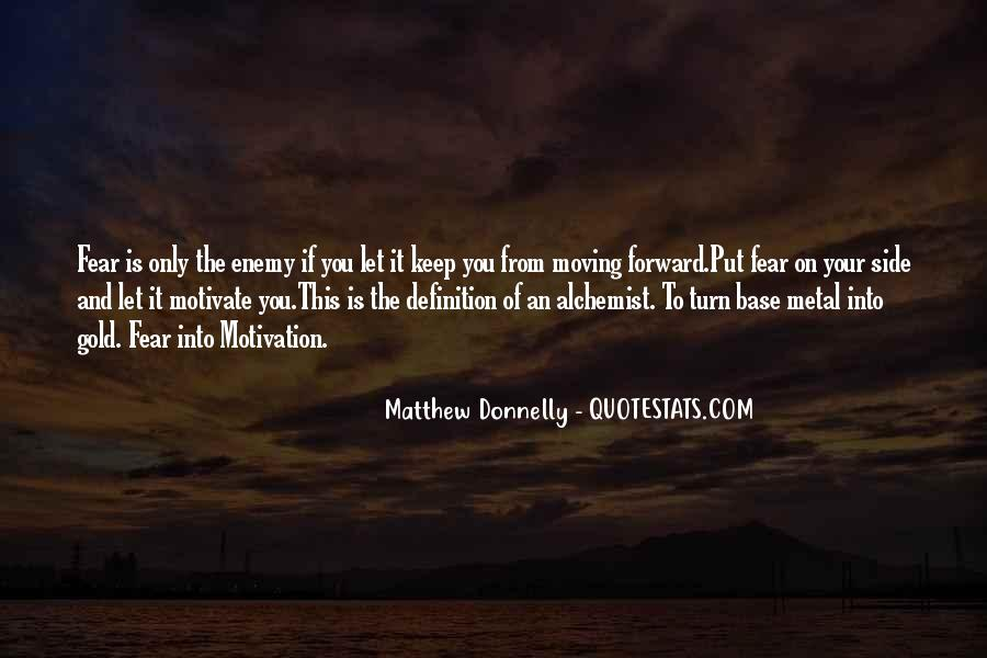 Quotes About Gold In The Alchemist #102711