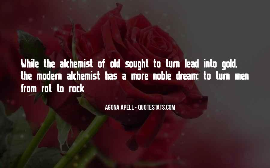 Quotes About Gold In The Alchemist #337695