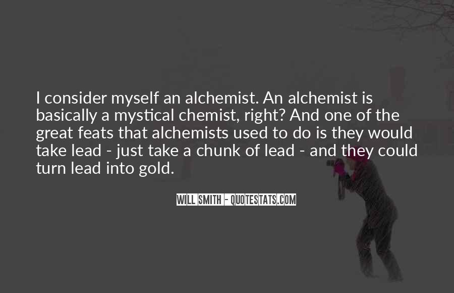 Quotes About Gold In The Alchemist #789141