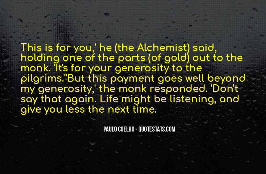 Quotes About Gold In The Alchemist #815968