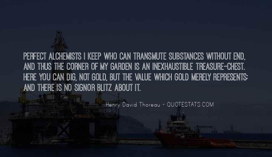 Quotes About Gold In The Alchemist #917647