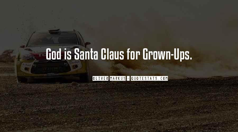 Funny Santa Claus Quotes #25976