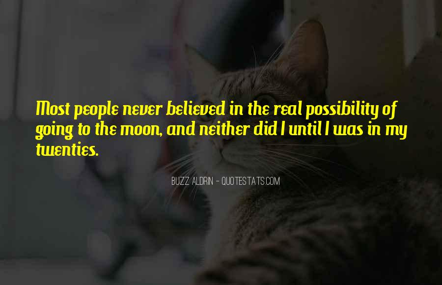 Quotes About Going To The Moon #139405