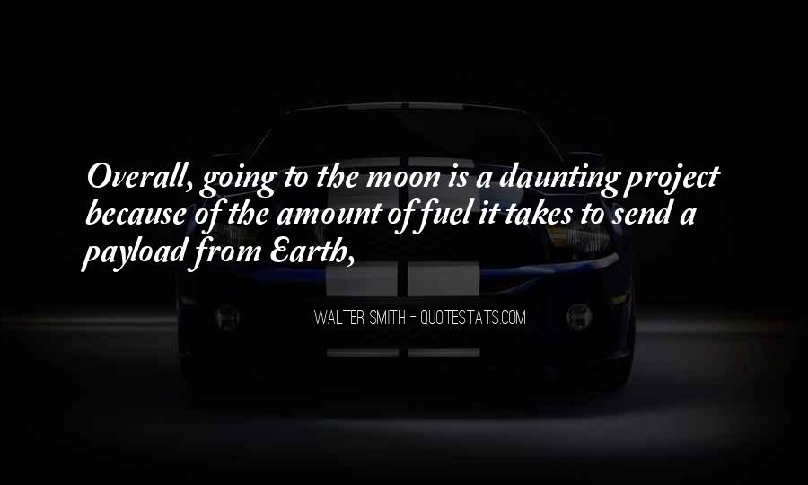 Quotes About Going To The Moon #1490292
