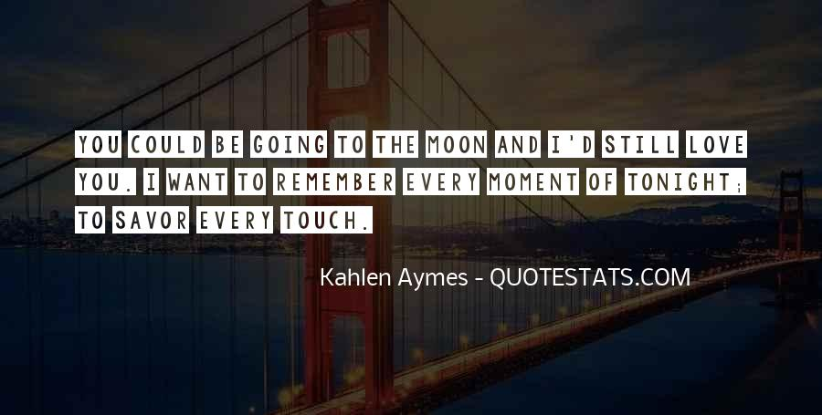 Quotes About Going To The Moon #183238