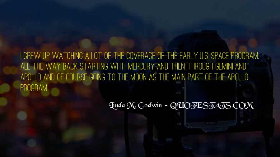 Quotes About Going To The Moon #324263