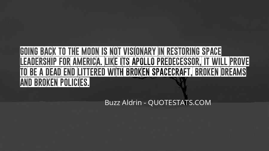 Quotes About Going To The Moon #453280