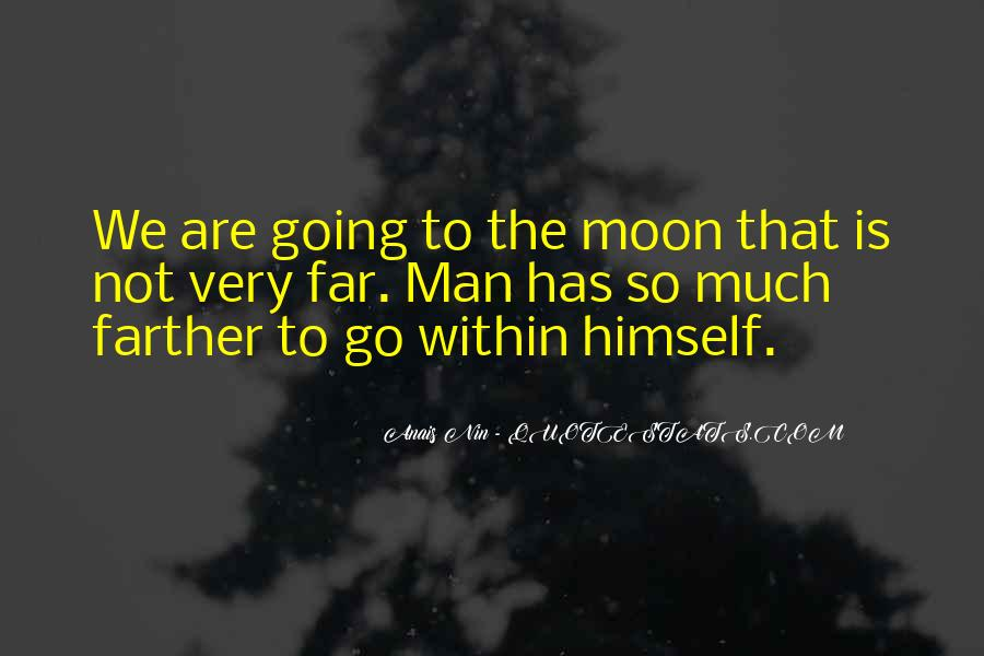 Quotes About Going To The Moon #87209
