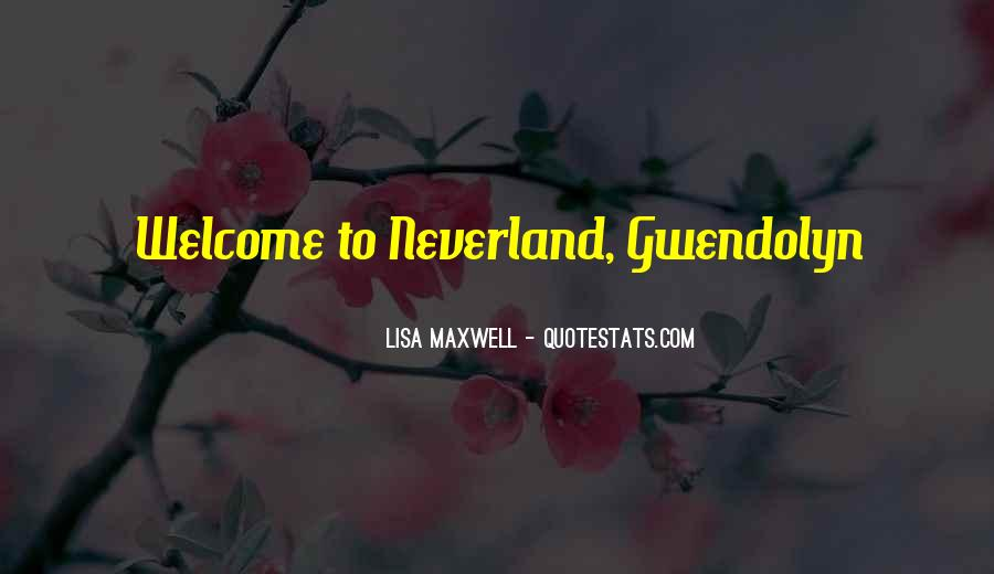 Quotes About Going To Neverland #1085100