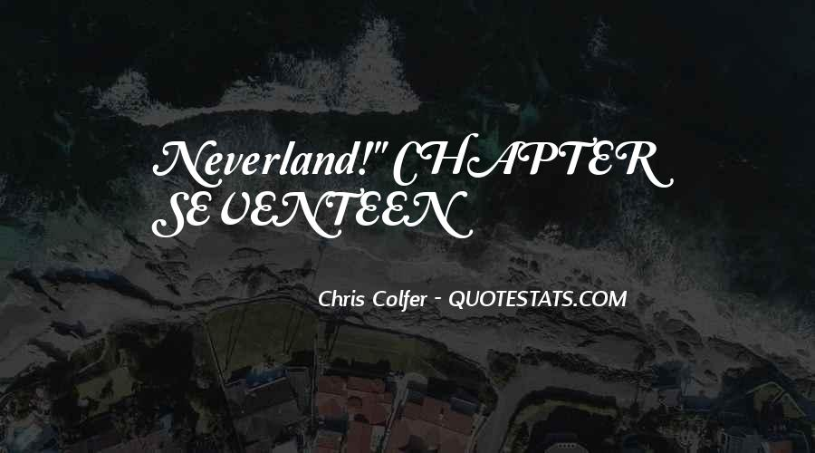 Quotes About Going To Neverland #1157037