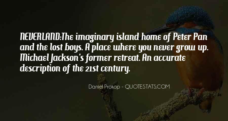 Quotes About Going To Neverland #121503
