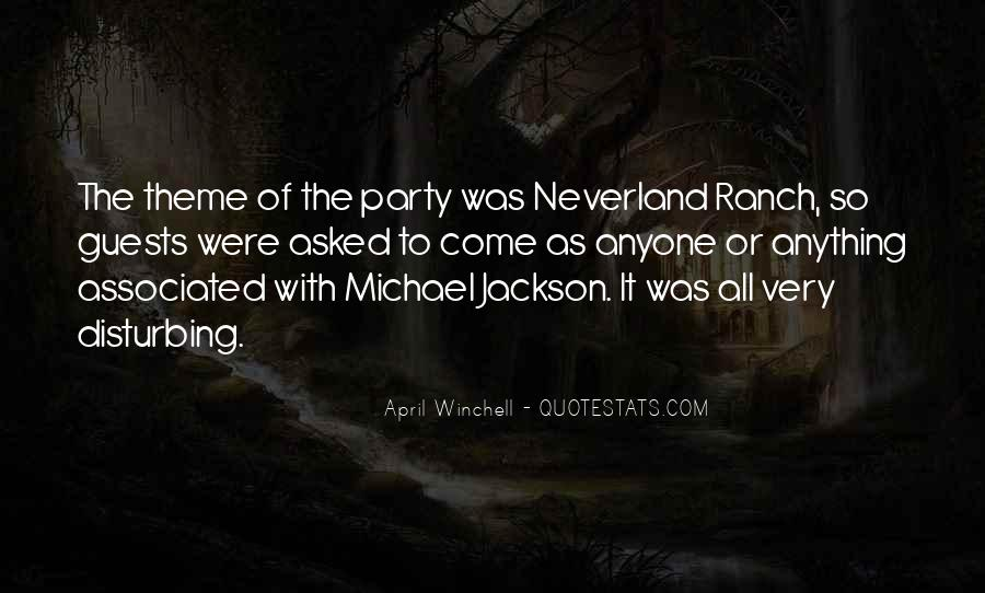 Quotes About Going To Neverland #341443