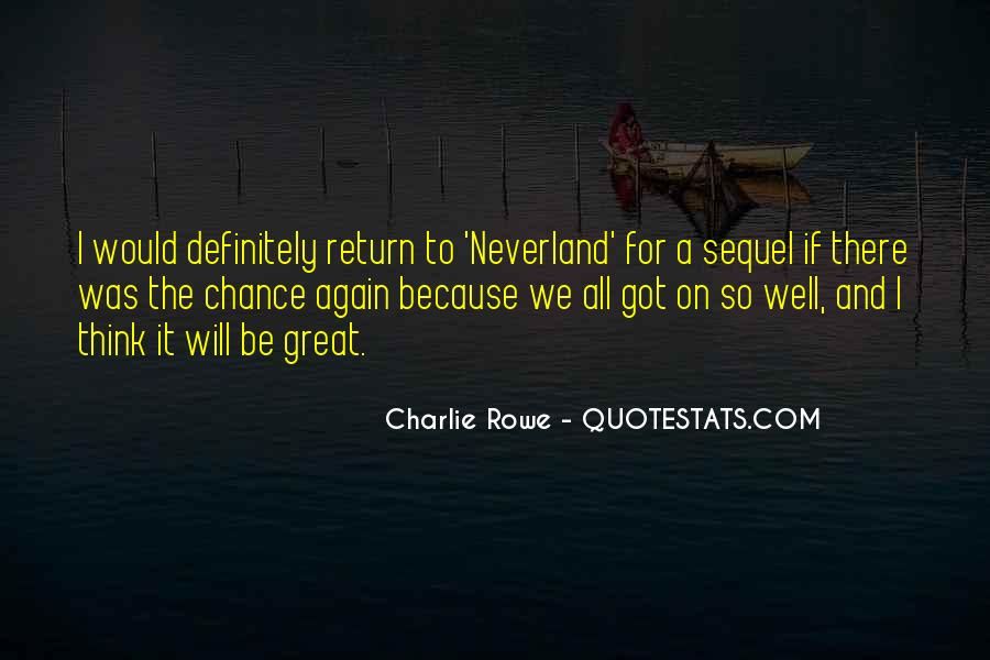 Quotes About Going To Neverland #444990
