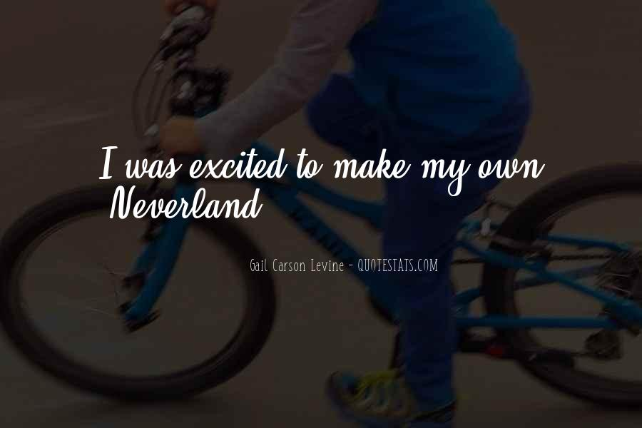 Quotes About Going To Neverland #456763