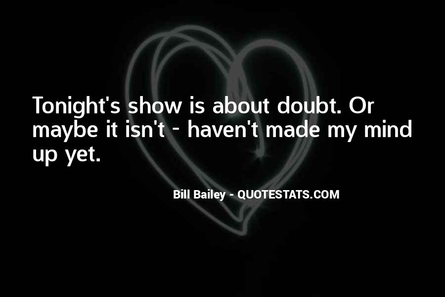 Funny Self Doubt Quotes #1450298