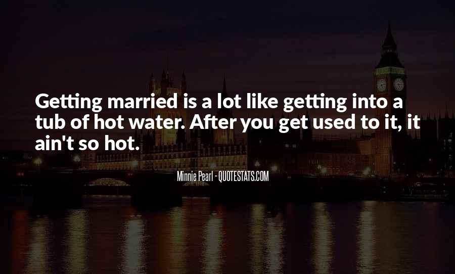 Funny Soon To Be Married Quotes #334155