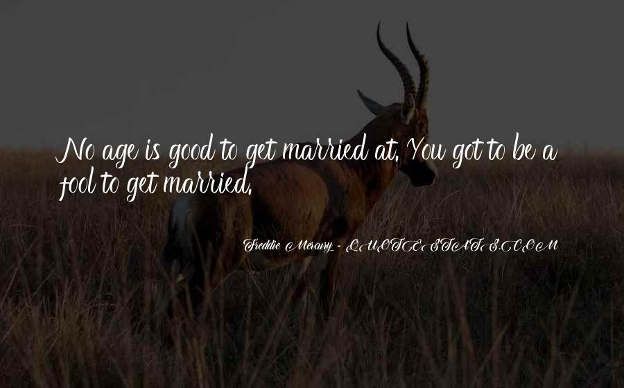 Funny Soon To Be Married Quotes #418863