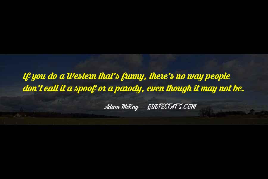 Funny Spoof Quotes #228284