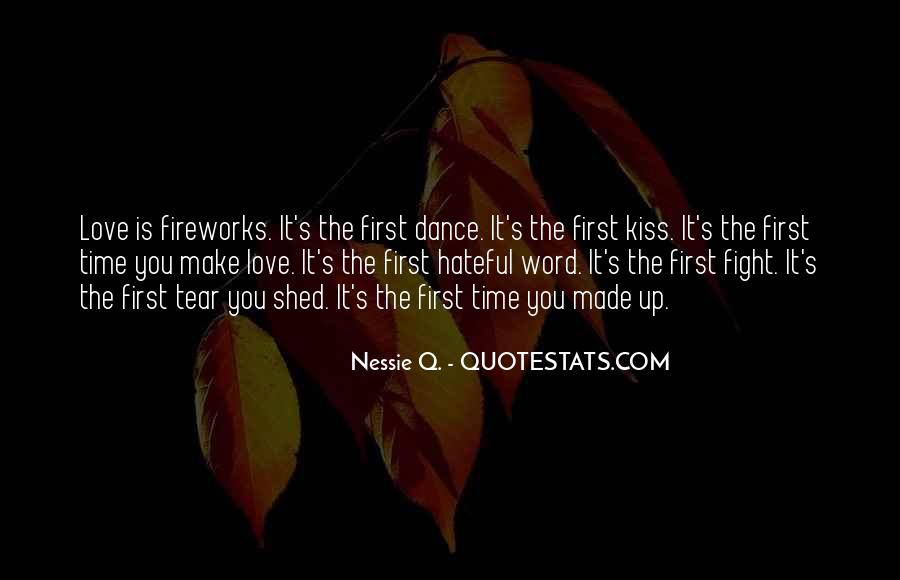 Quotes About The First Dance #1480371