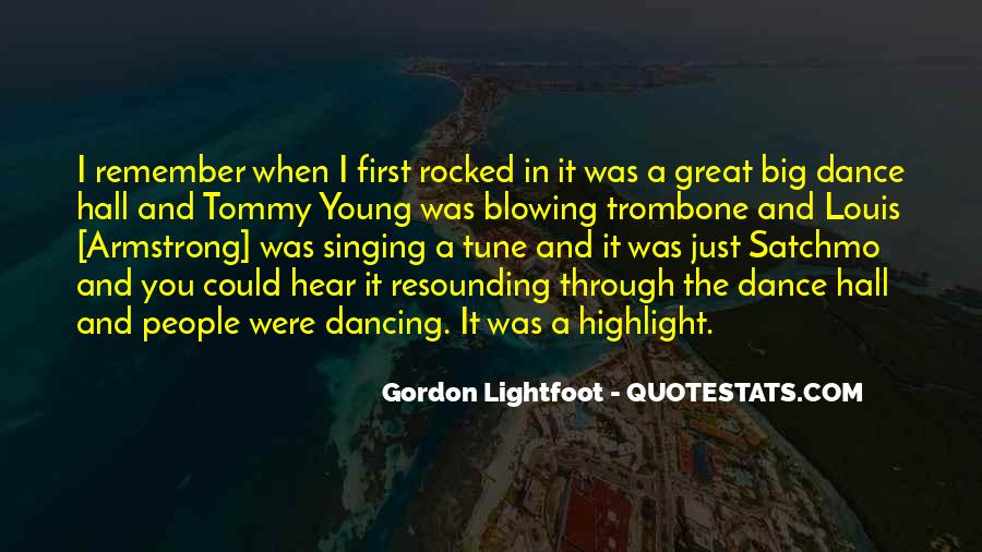 Quotes About The First Dance #229392